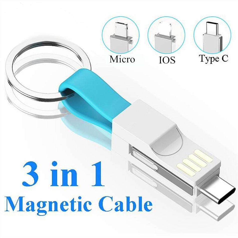 3-In-1 Keychain Cable - Blazing Dealz