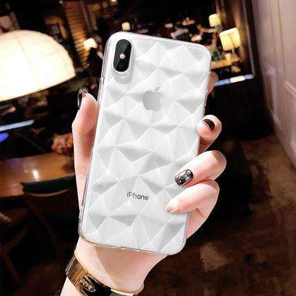 3D Diamond Texture Case For iPhones - Discounts You May Like