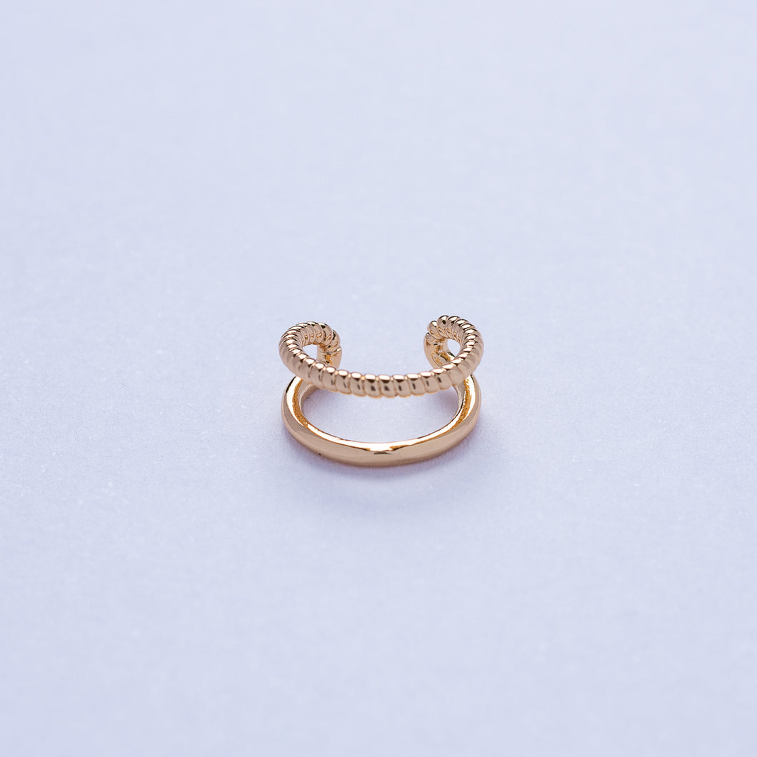 Comb Ear Cuff - Gold