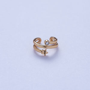 Universe Ear Cuff - Golden