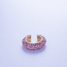 Load image into Gallery viewer, Crystal Ear Cuff - Rose