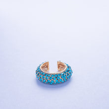Load image into Gallery viewer, Crystal Ear Cuff - Aqua