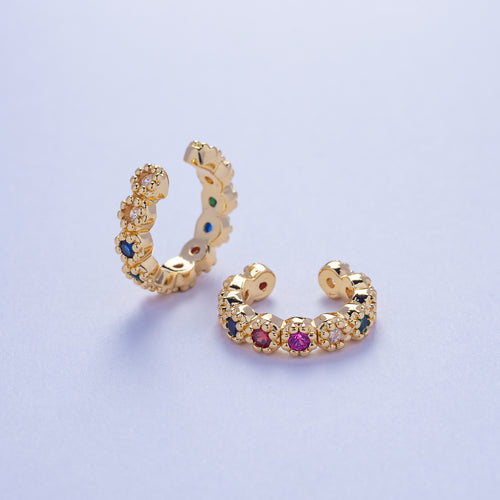 Hera Ear Cuffs - Multicolored