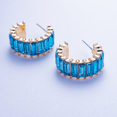 Roberta Earrings - Blue