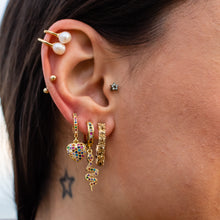 Load image into Gallery viewer, Queen Earrings - Honey