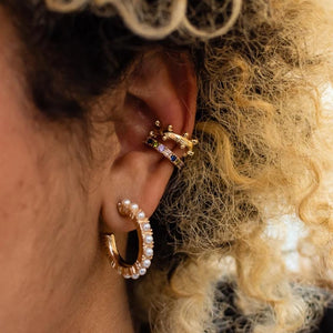 Alonso Ear Cuff - Multicolored
