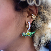 Load image into Gallery viewer, Saurus Earrings - Pink