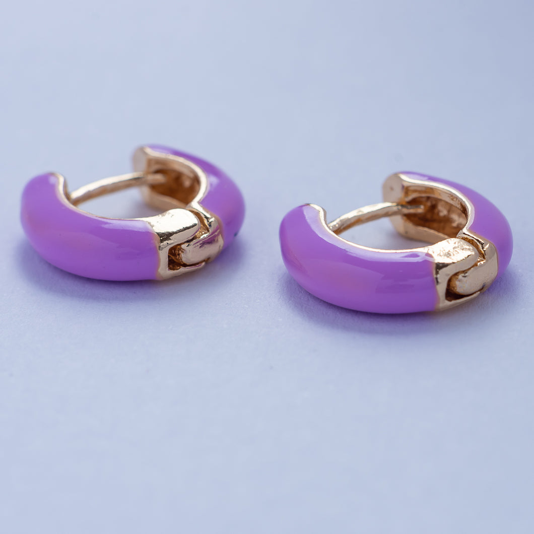 Mia Earrings - Lavander