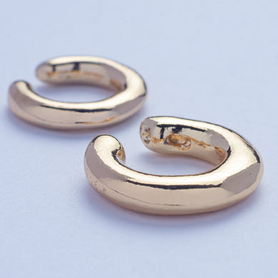 Tupac Ear Cuffs - Golden