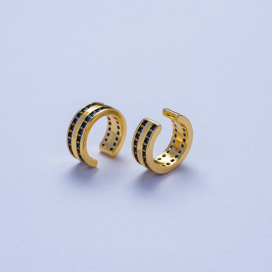 Venus Ear Cuffs - Blue