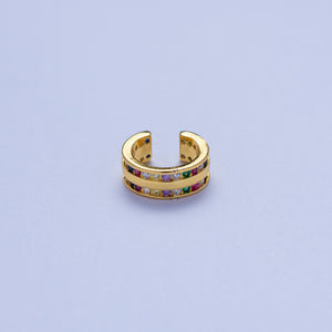 Venus Ear Cuffs - Multicolored