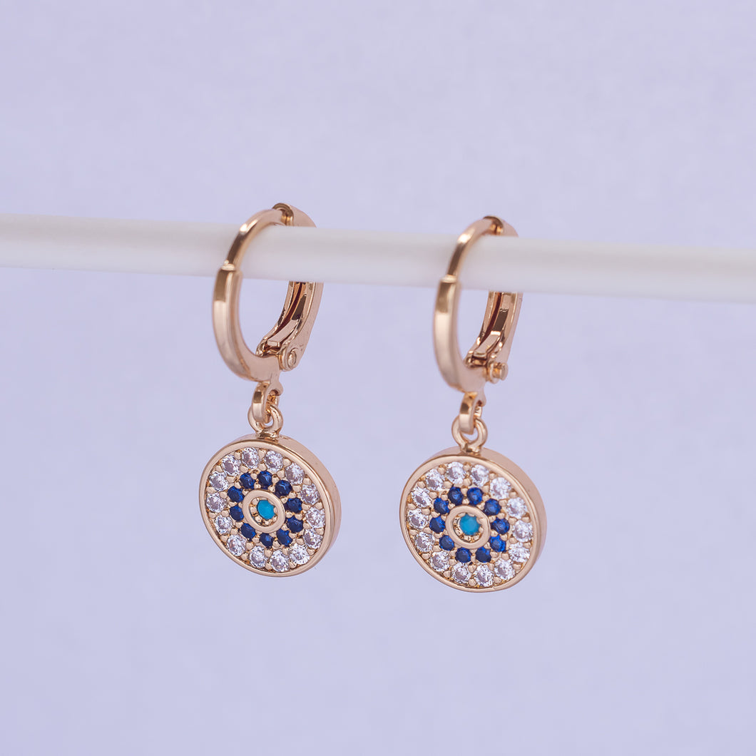 Mandala Earrings - Gold