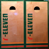 "Business or School Heavy Duty 3/4"" top and 2 x 4 Frame Cornhole Set"