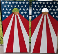 Stars and Stripes USA Cornhole Board Set