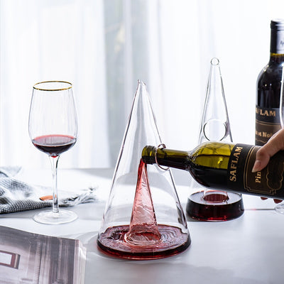 Sleek Crystal Decanter