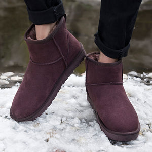 Anti-Skidding Leather Boots