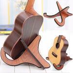Portable Handcrafted Ukelele Stand