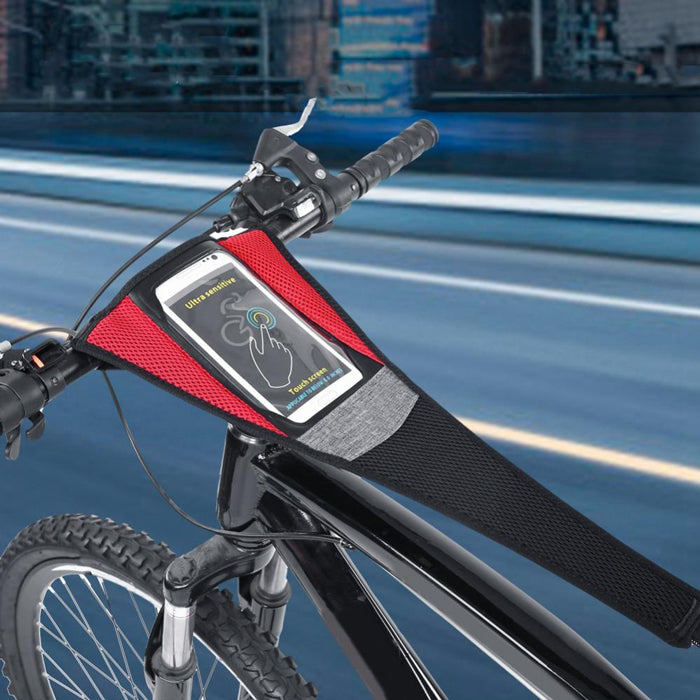 Bike Sweat Band With Phone Pouch