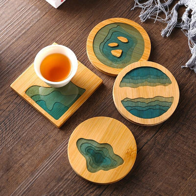 Fresh Bamboo Coasters