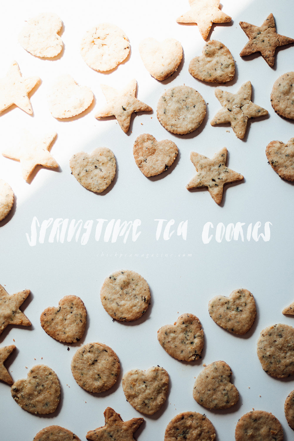 easy vegan tea cookies
