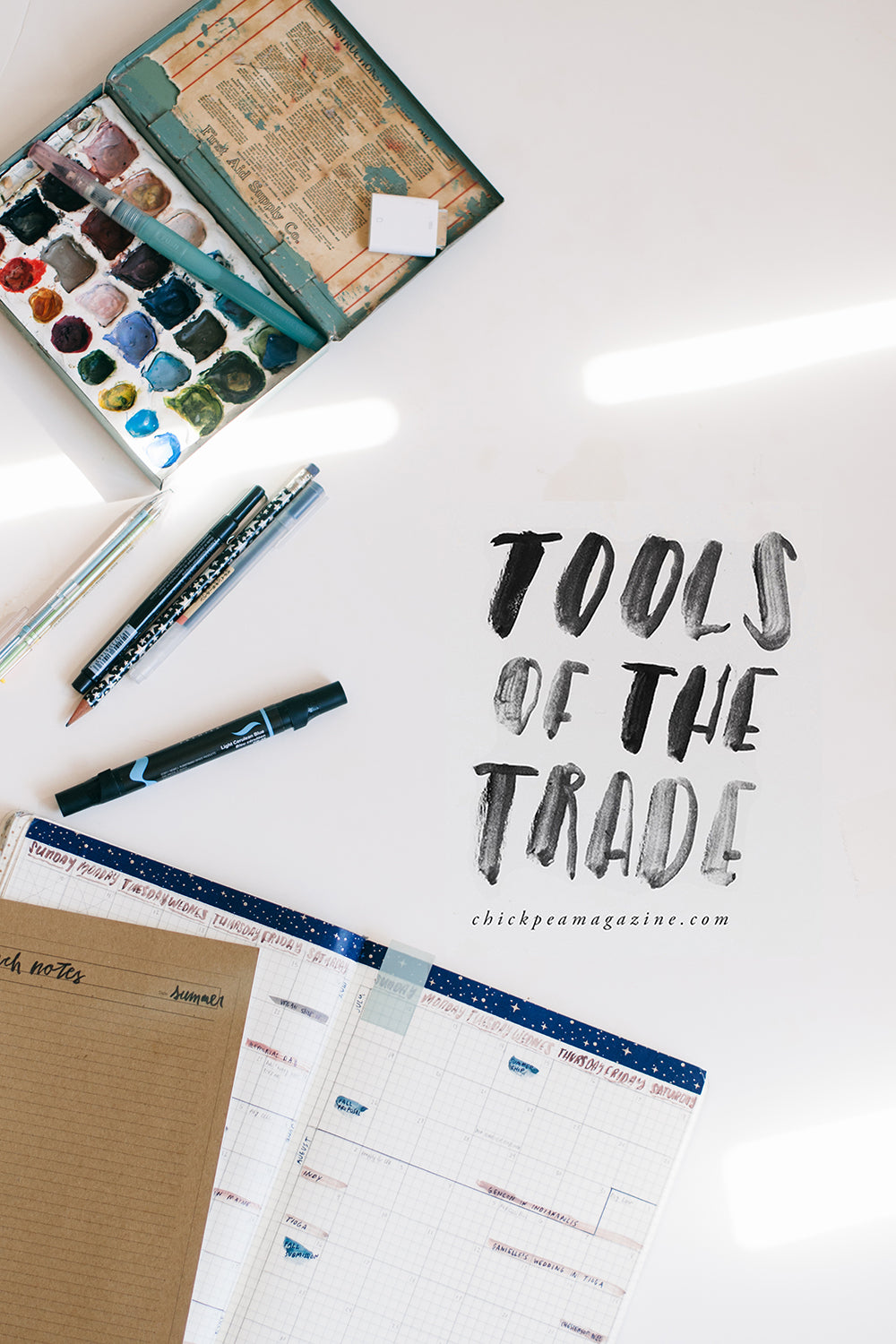 tools to create a magazine