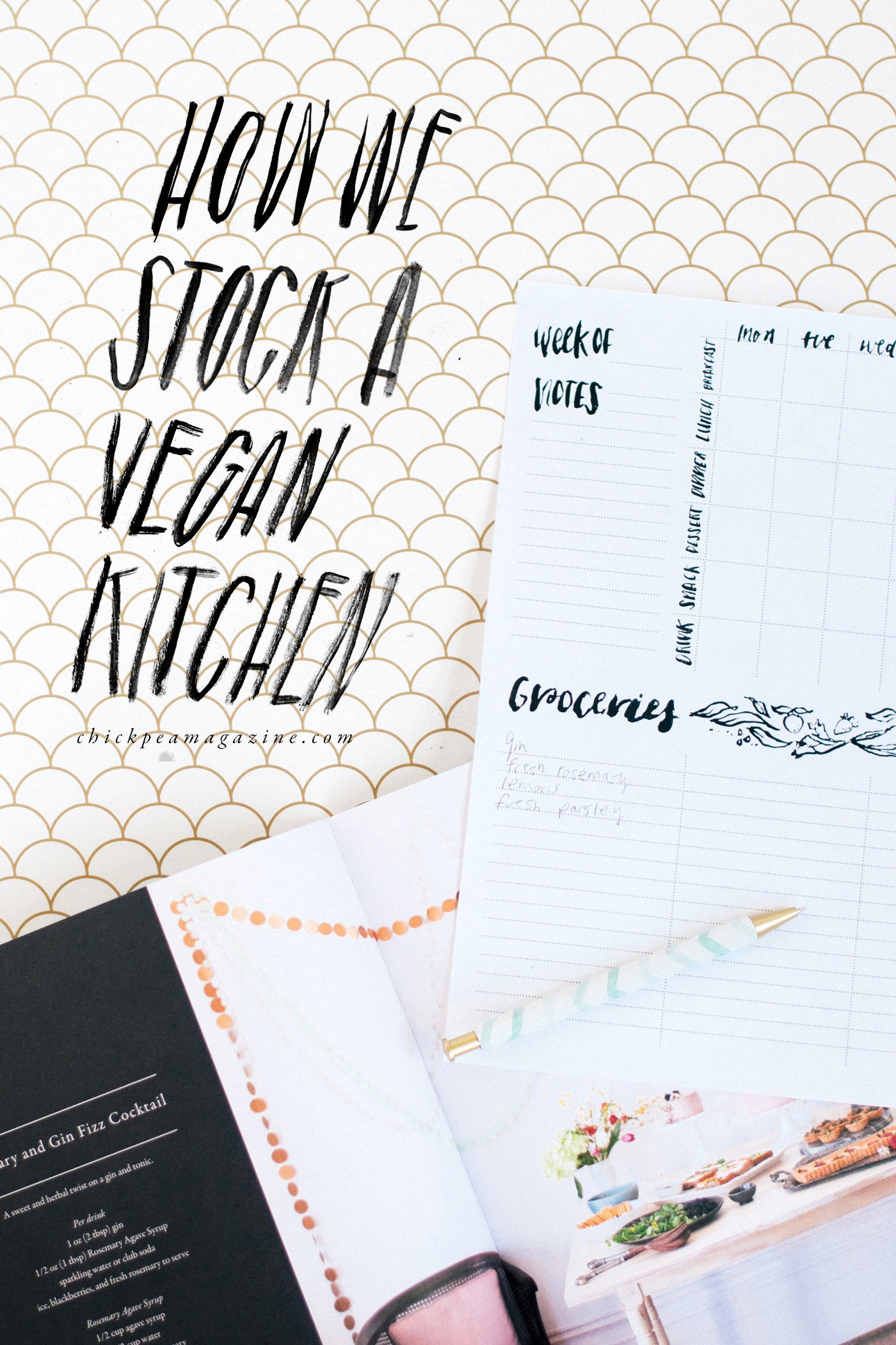 how we stock a vegan kitchen