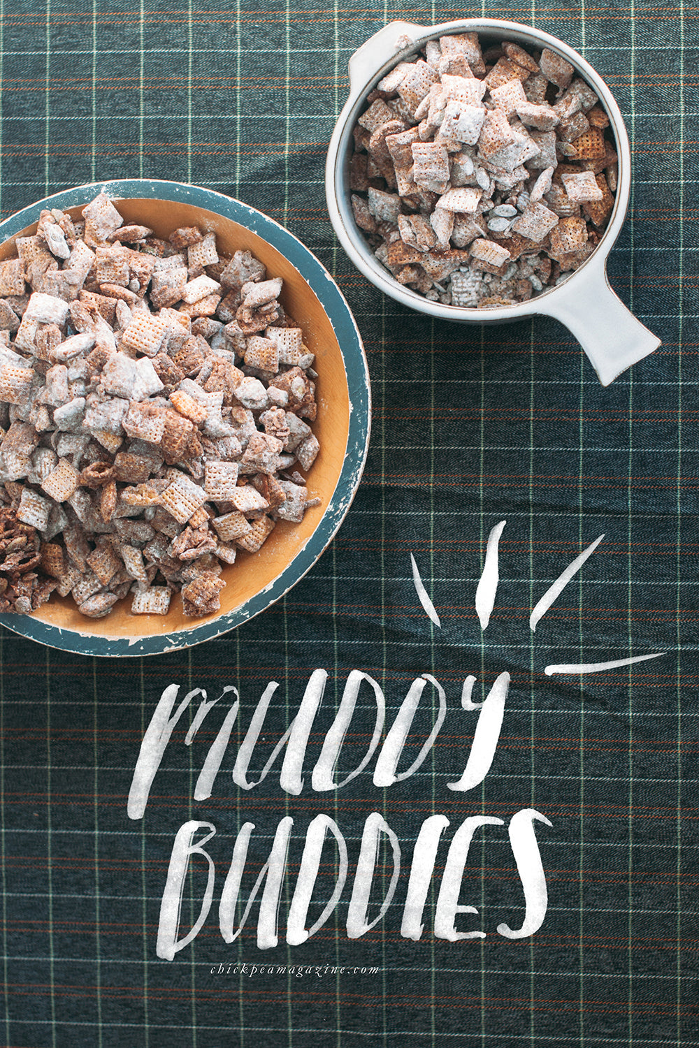vegan muddy buddies