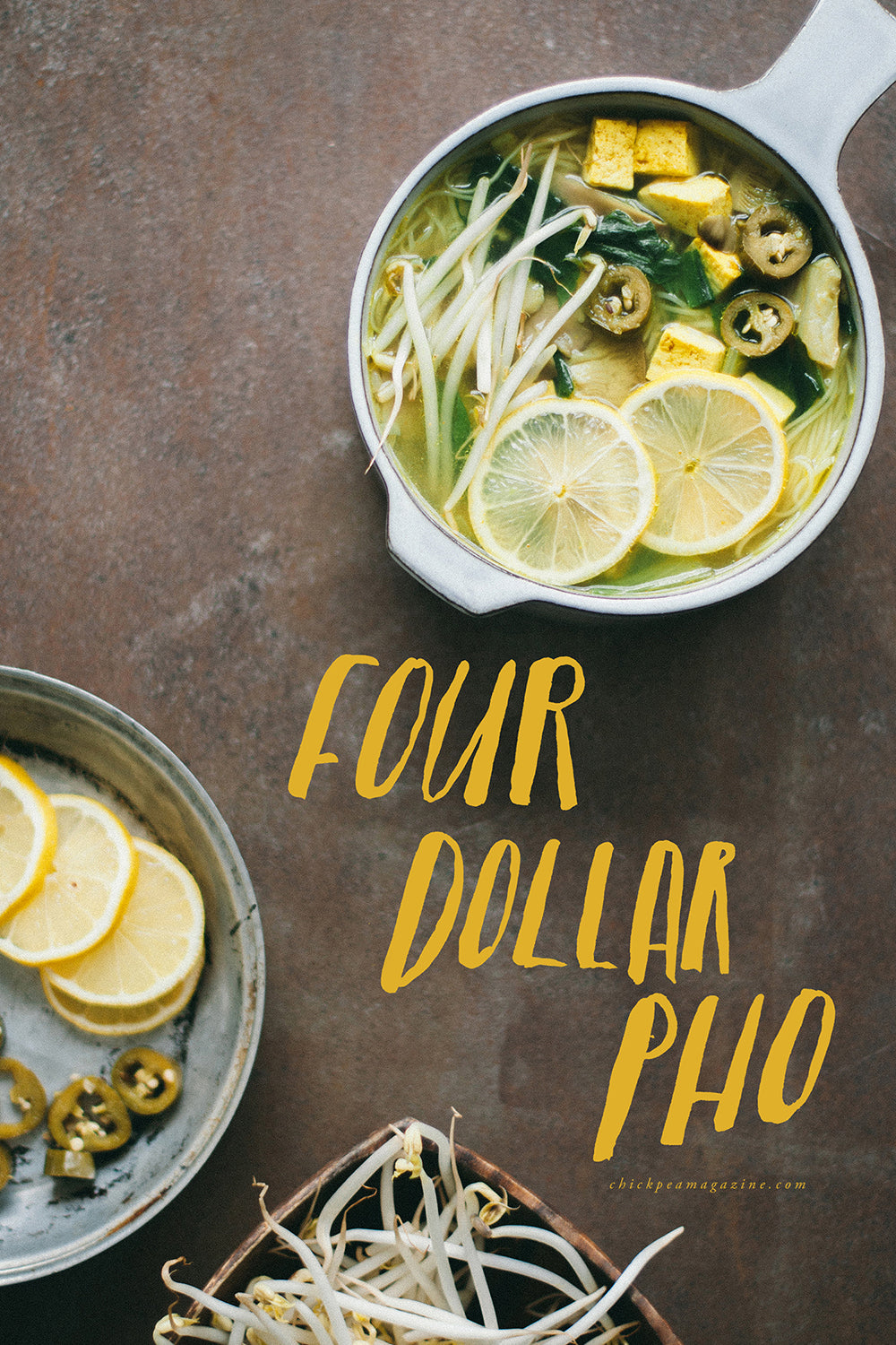cheap easy vegan pho