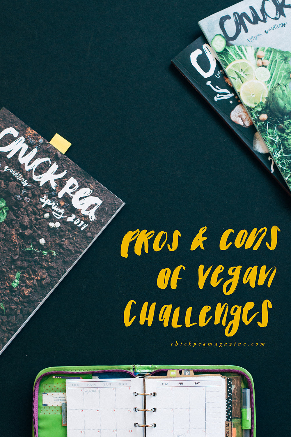 pros and cons of vegan challenges