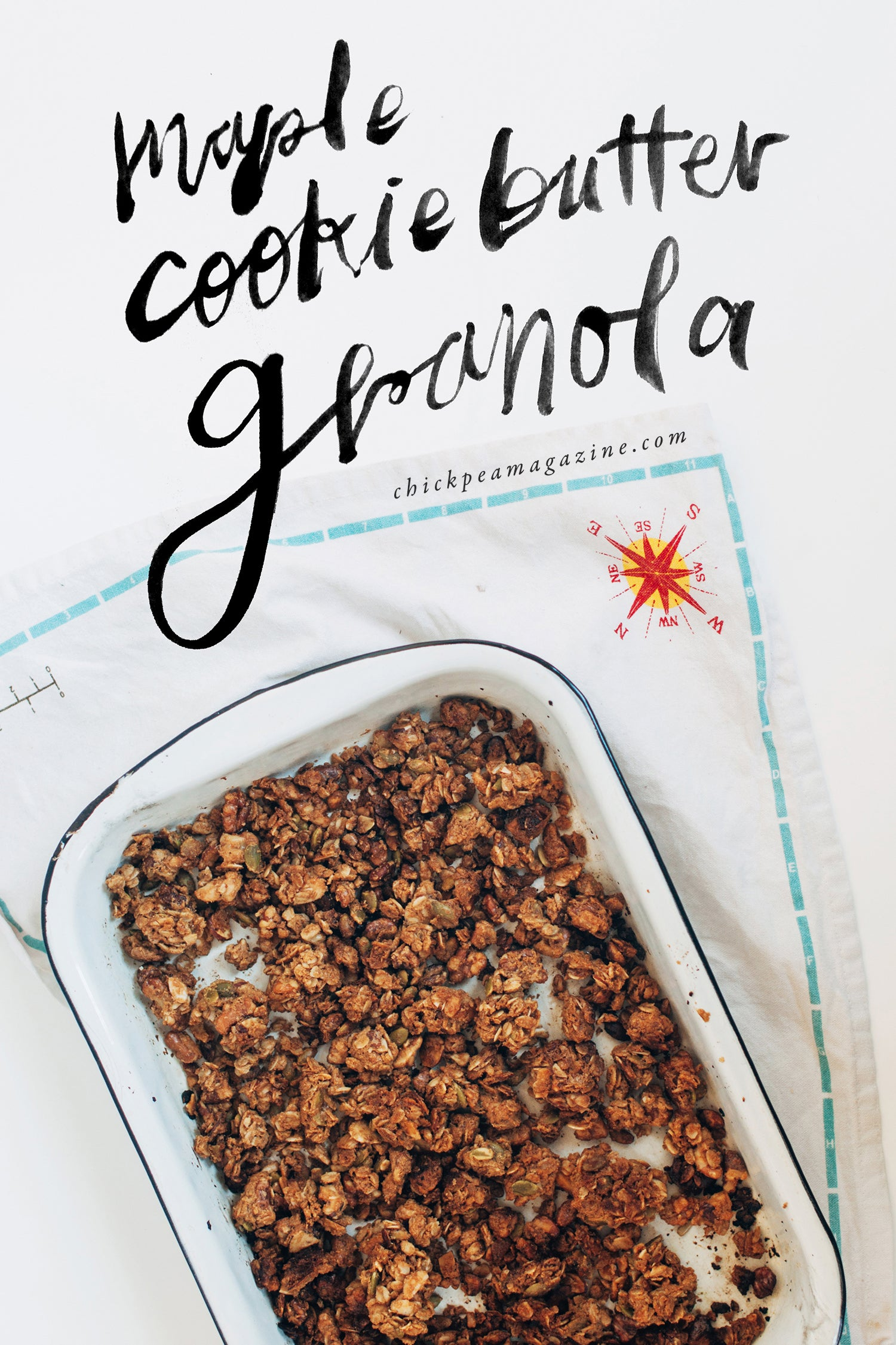 vegan maple cookie butter granola