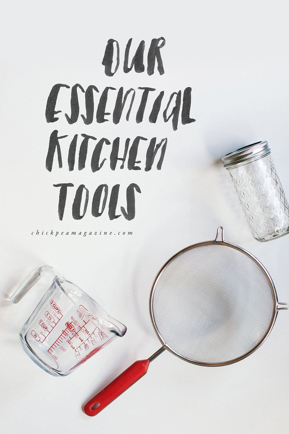 essential vegan kitchen tools