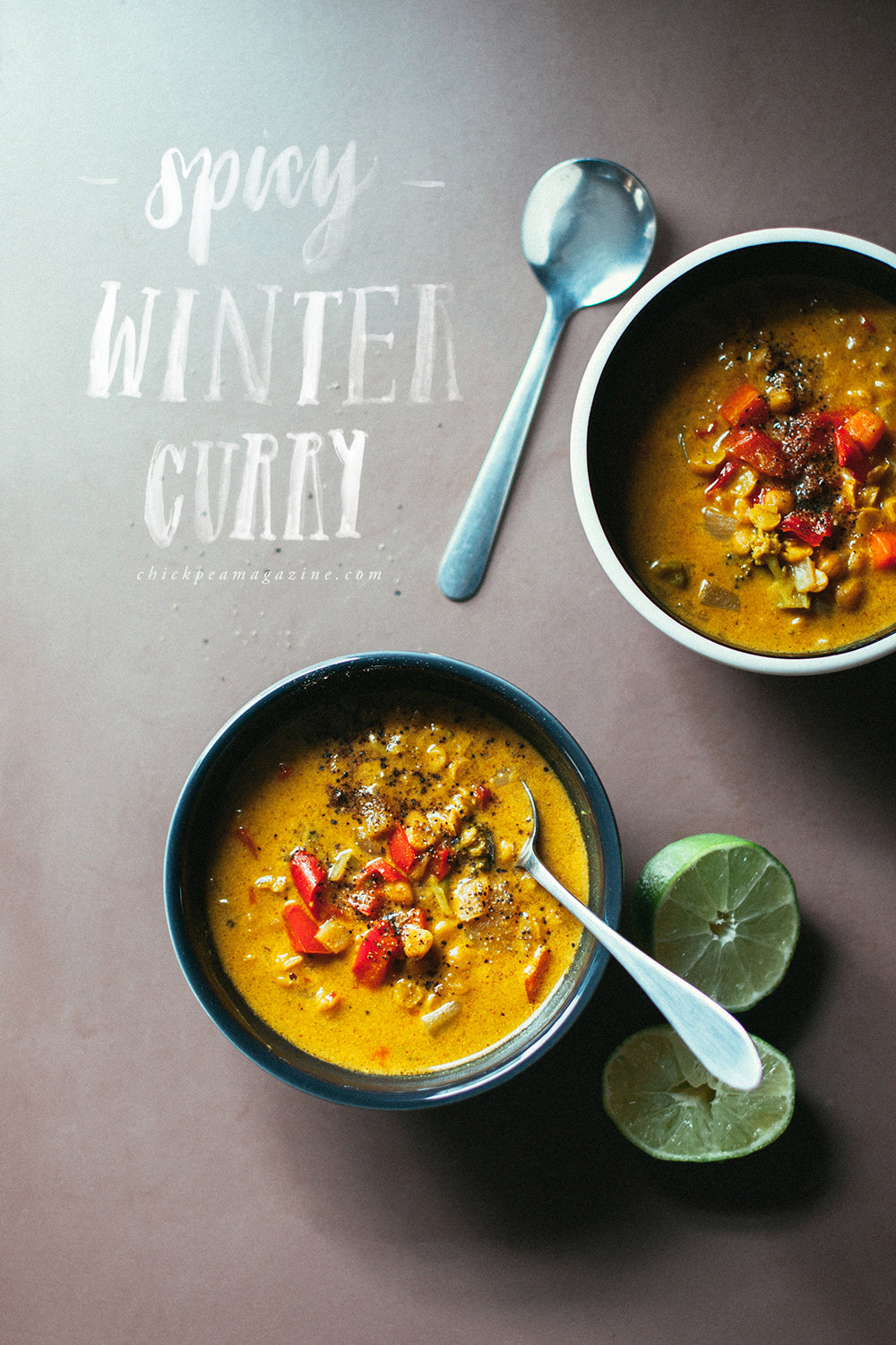 vegan spicy winter curry