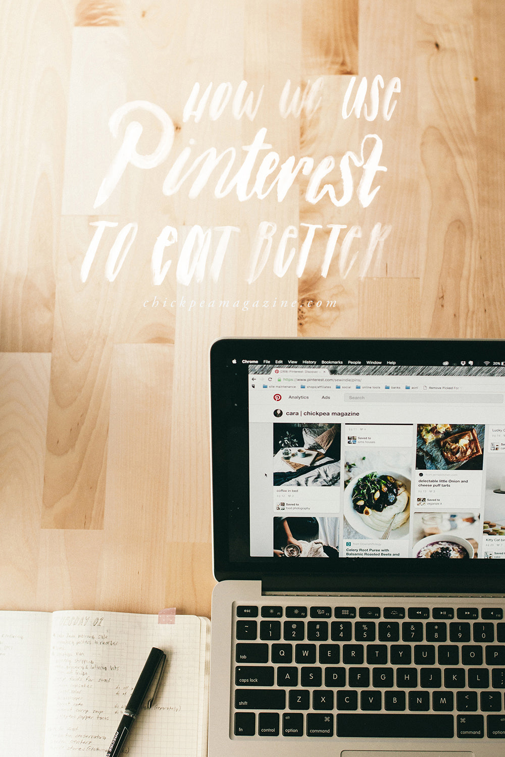 how we use pinterest to eat better