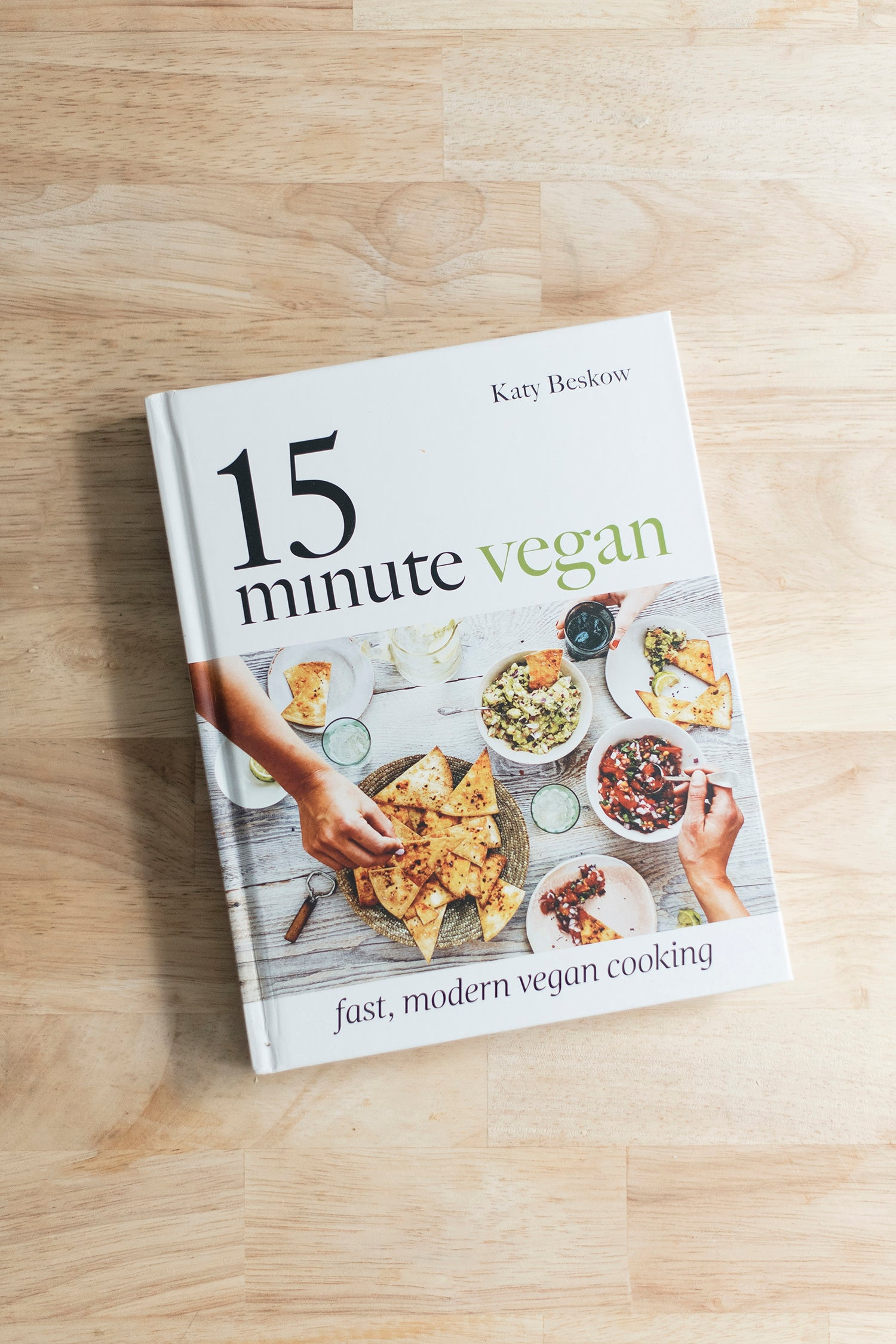 15 minute vegan book review