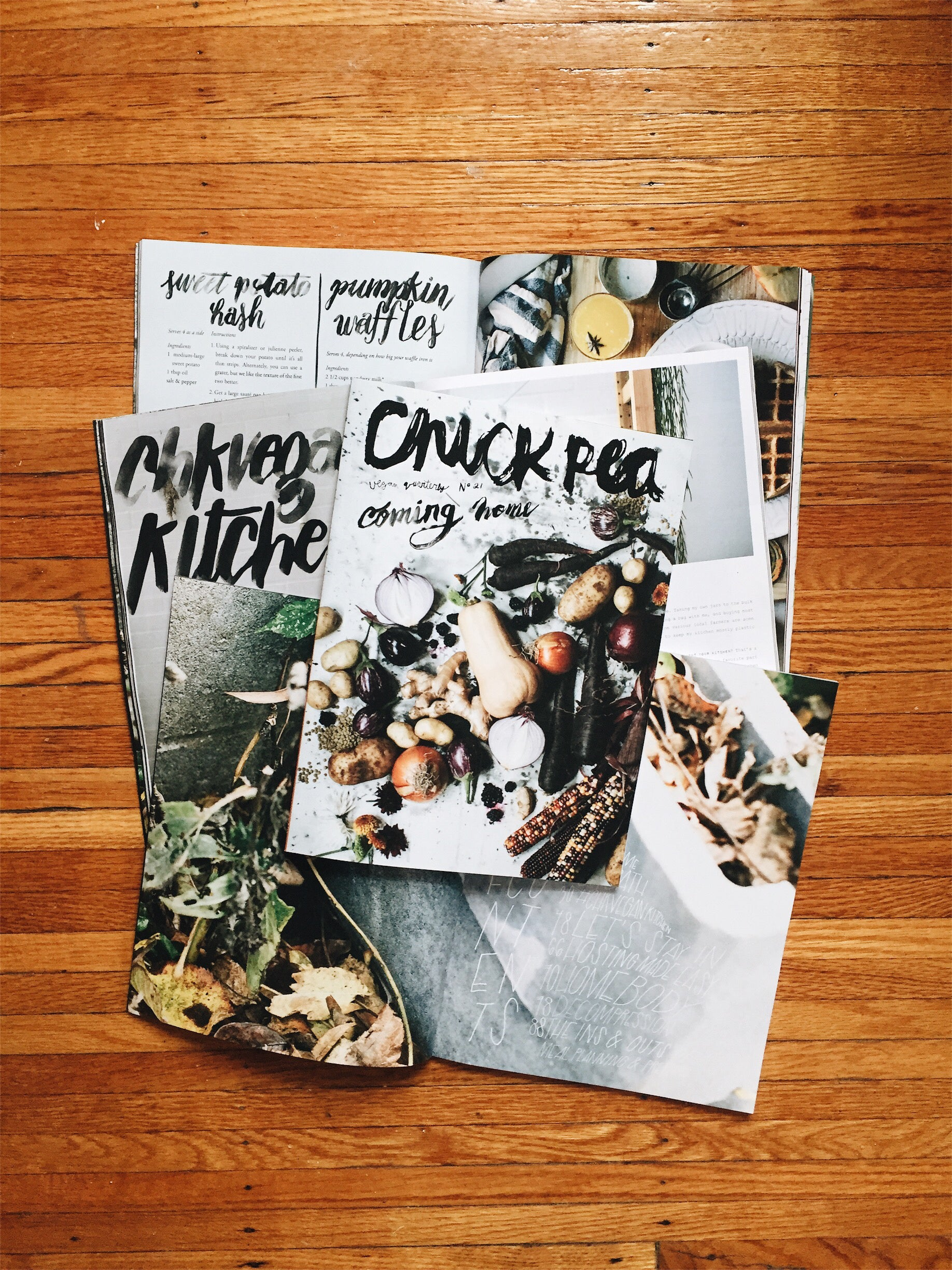 chickpea mag #21: coming home