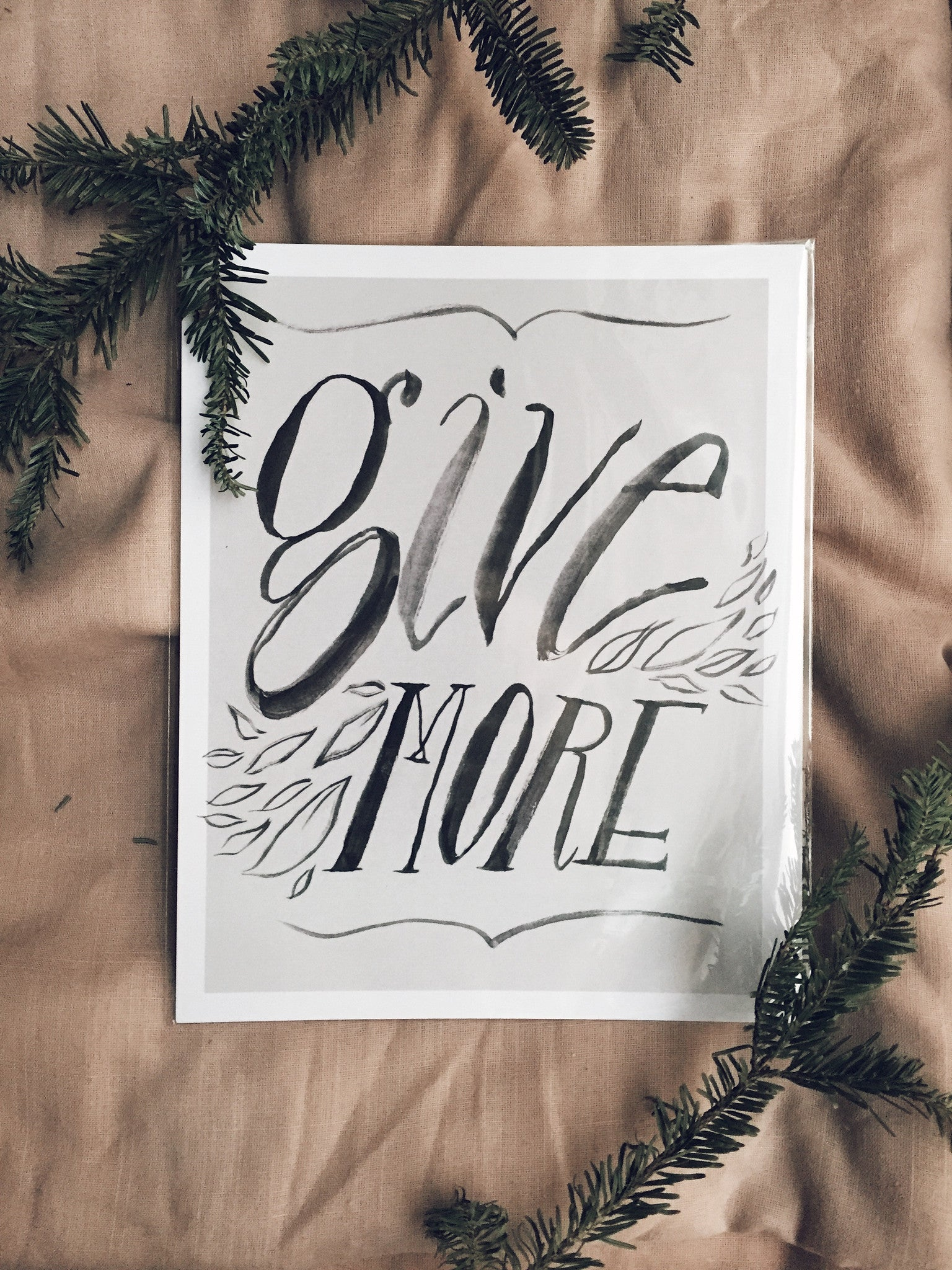 give more print for charity