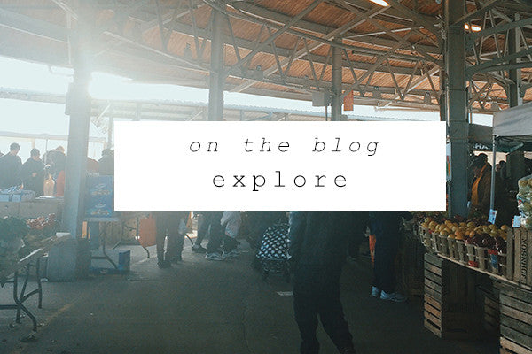 on the blog: explore