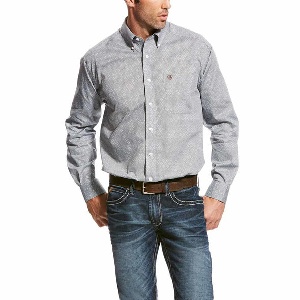 Ariat Mens Quiksey Print L/S Shirt