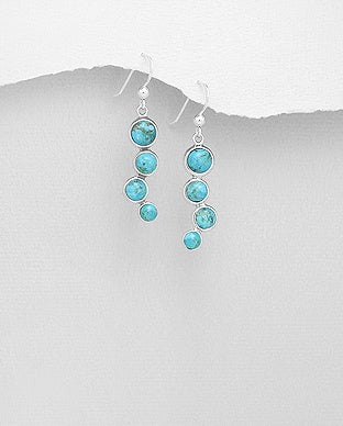 Dakoda Turquoise Drop Earrings