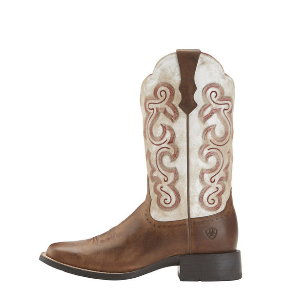 Ariat Quickdraw - Sandstorm/Distressed White