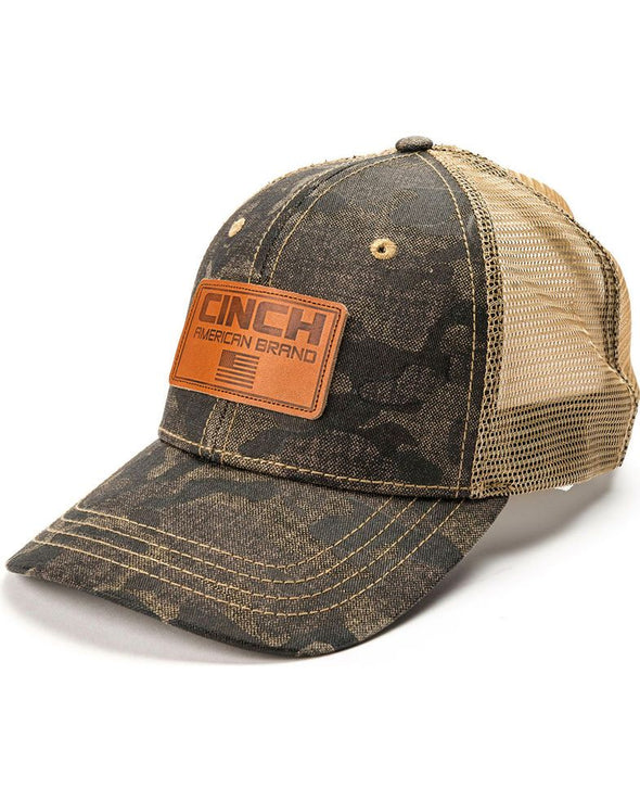 Cinch Mens Camo Mesh Back Cap