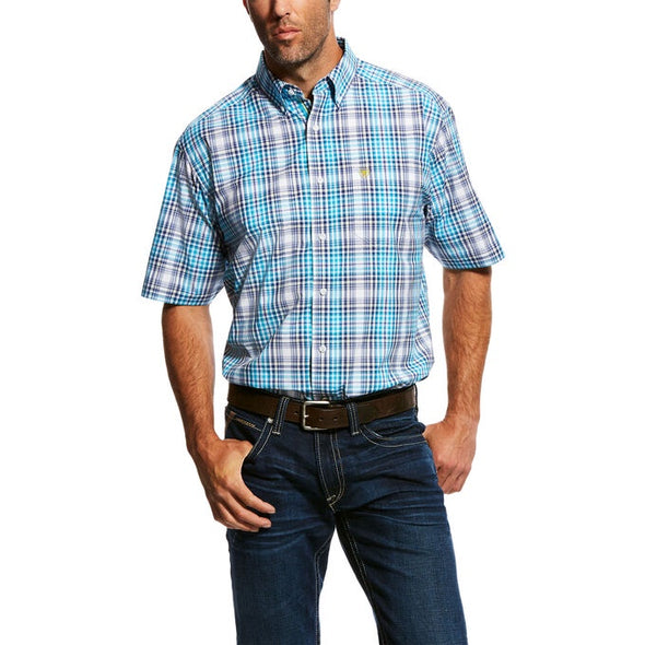 Ariat Mens Nathans Performance S/S Shirt