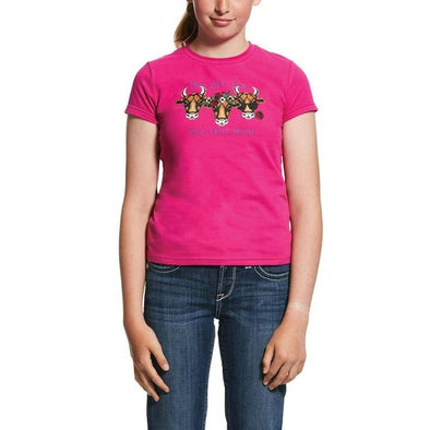 Ariat Girl's Hay Girl Tee