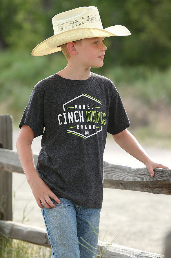 Cinch Boys Rodeo Brand Tee