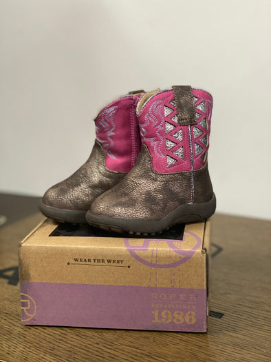 Roper Infant Cowbaby Askook Boots