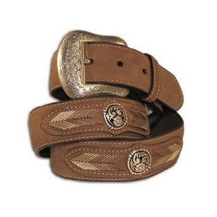 Nocona Mens String Lace Leather Belt
