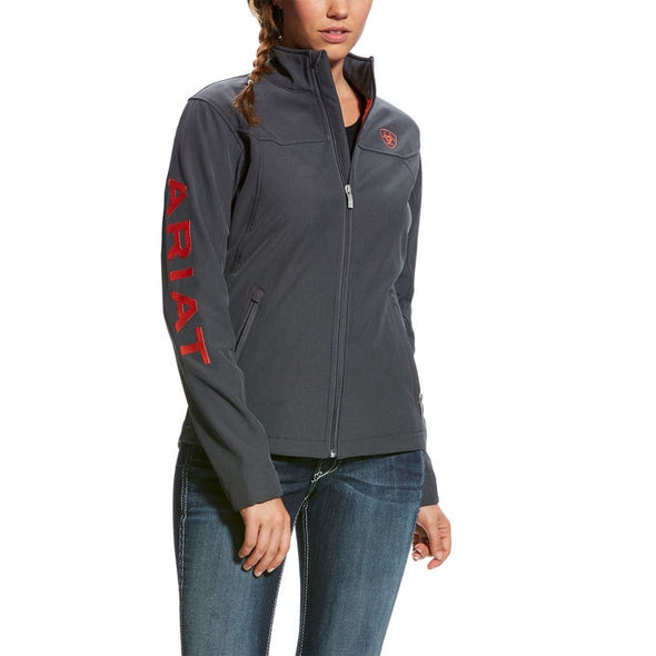 Ariat  New Team Softshell Jacket - Graphite Heather