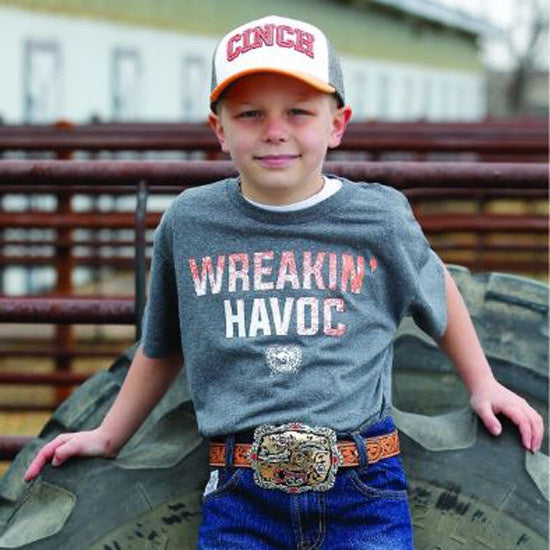 Cinch Boys Wreakin' Havoc Tee