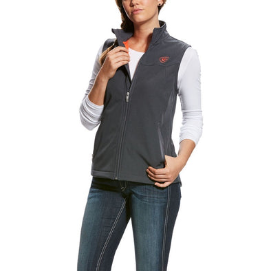 Ariat Ladies Team Softshell Vest - Charcoal Heather