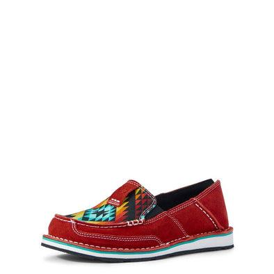 Ariat Ladies Cruiser - Ruby Suede/Black Serape